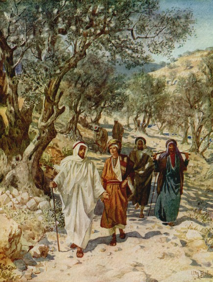 L'Évangile ou vie de Jésus en images. 18j10
