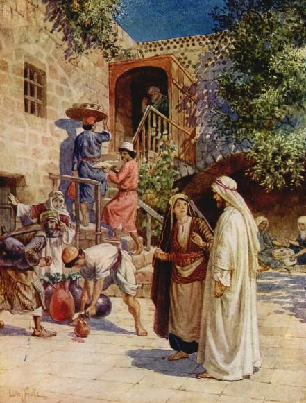 L'Évangile ou vie de Jésus en images. 19j10