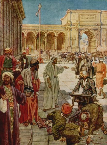 L'Évangile ou vie de Jésus en images. 20j10