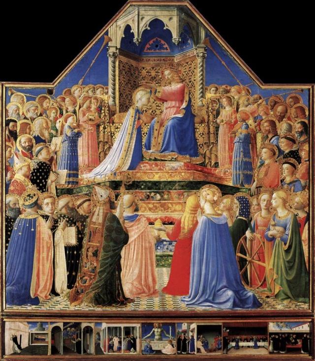 FRA ANGELICO -- Extrait des PAGES D'ART CHRÉTIEN du Père Abel Fabre. 20louv10