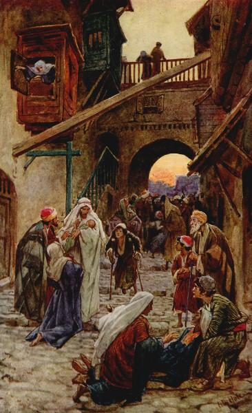 L'Évangile ou vie de Jésus en images. 24j11