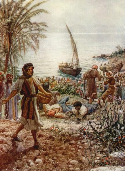 L'Évangile ou vie de Jésus en images. 25j10