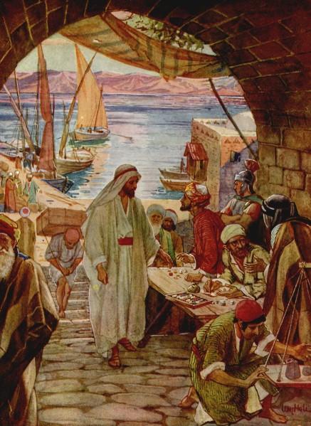 L'Évangile ou vie de Jésus en images. 27j10