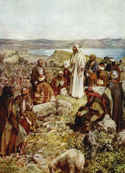 L'Évangile ou vie de Jésus en images. 28j10