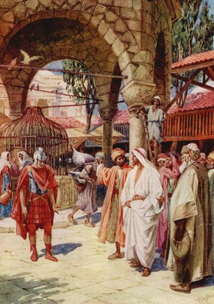 L'Évangile ou vie de Jésus en images. 30j10