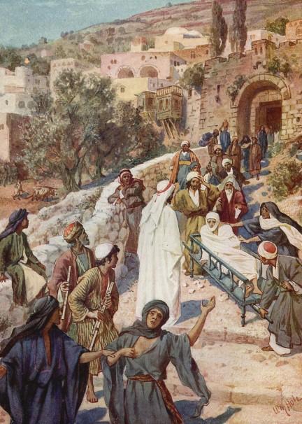 L'Évangile ou vie de Jésus en images. 31j10