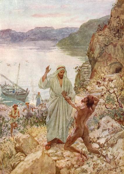 L'Évangile ou vie de Jésus en images. 34j10