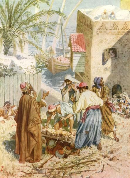 L'Évangile ou vie de Jésus en images. 35j10