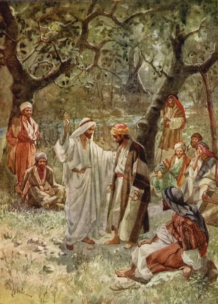 L'Évangile ou vie de Jésus en images. 42j10
