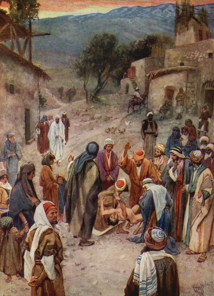 L'Évangile ou vie de Jésus en images. 44j10