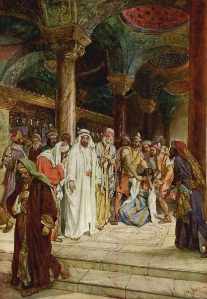 L'Évangile ou vie de Jésus en images. 45j10