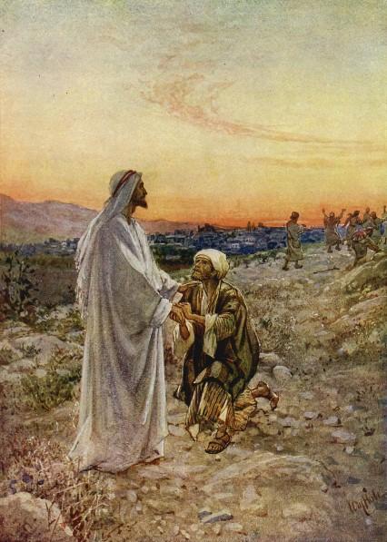 L'Évangile ou vie de Jésus en images. 46j10