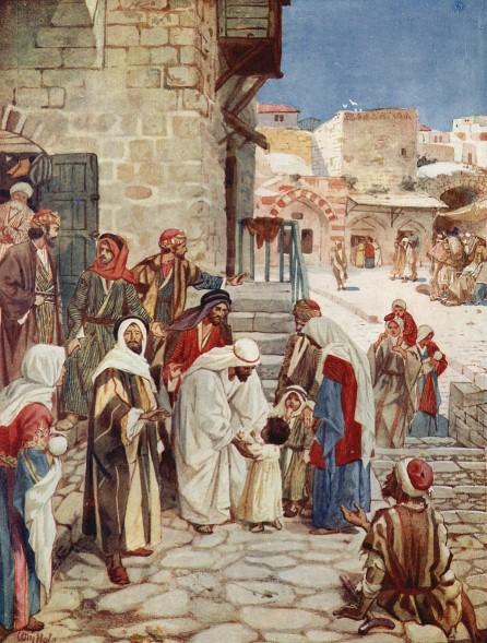 L'Évangile ou vie de Jésus en images. 48j10