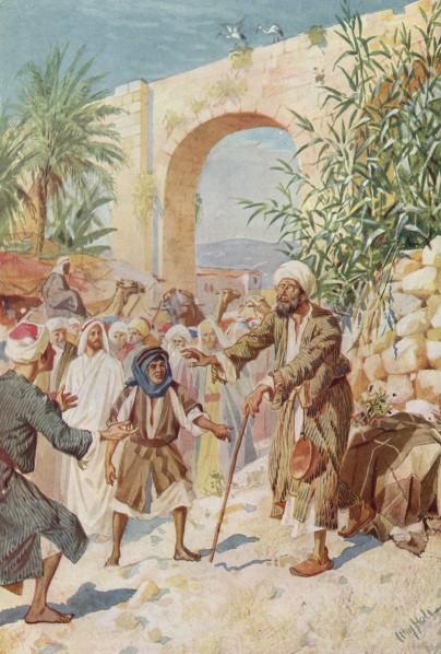 L'Évangile ou vie de Jésus en images. 51j10
