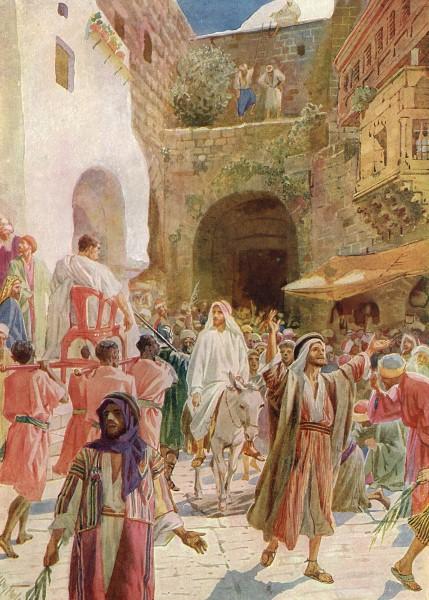 L'Évangile ou vie de Jésus en images. 52j10