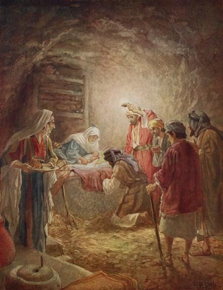 L'Évangile ou vie de Jésus en images. 5j10