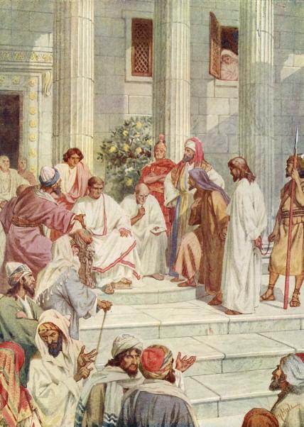 L'Évangile ou vie de Jésus en images. 61j10