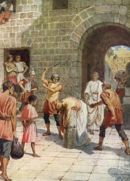 L'Évangile ou vie de Jésus en images. 64j10