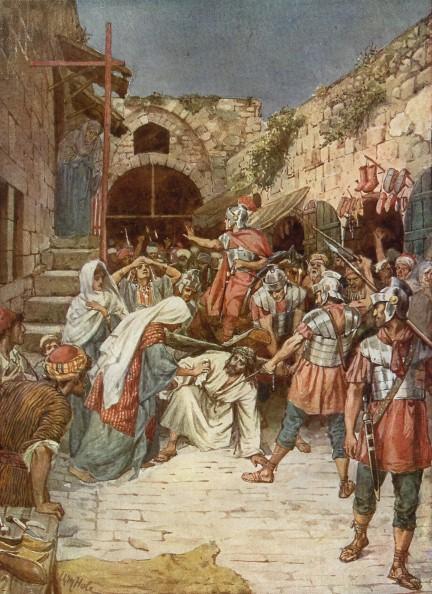 L'Évangile ou vie de Jésus en images. 67j10