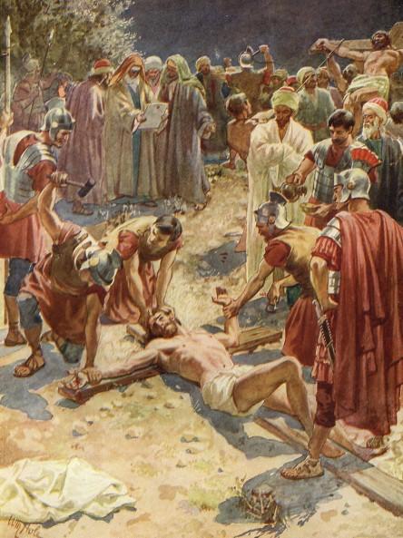 L'Évangile ou vie de Jésus en images. 68j10