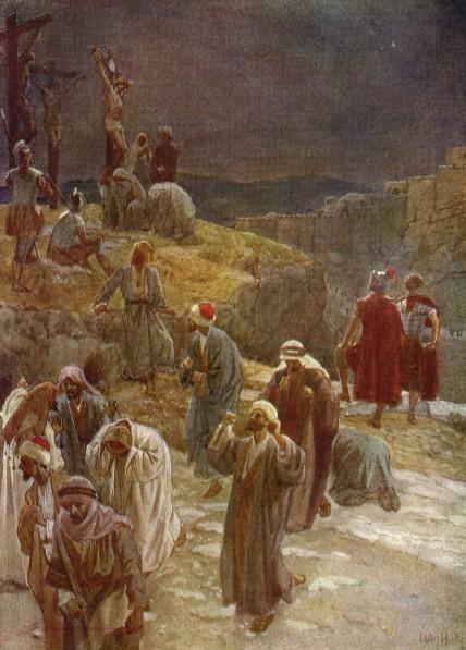 L'Évangile ou vie de Jésus en images. 70j10