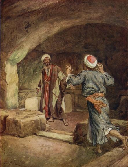 L'Évangile ou vie de Jésus en images. 73j10