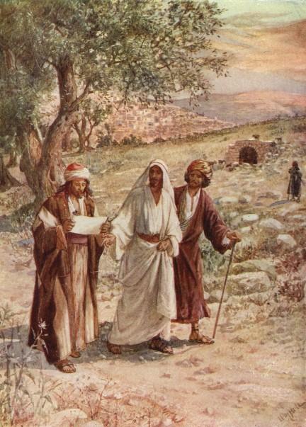 L'Évangile ou vie de Jésus en images. 75j10