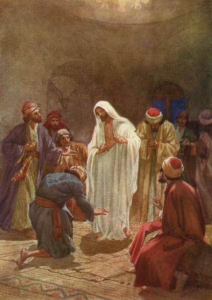 L'Évangile ou vie de Jésus en images. 77j10