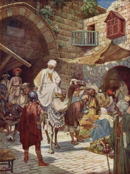 L'Évangile ou vie de Jésus en images. 7j10