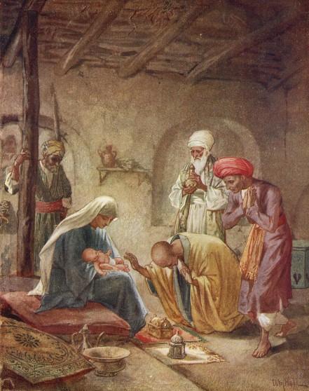 L'Évangile ou vie de Jésus en images. 8j10