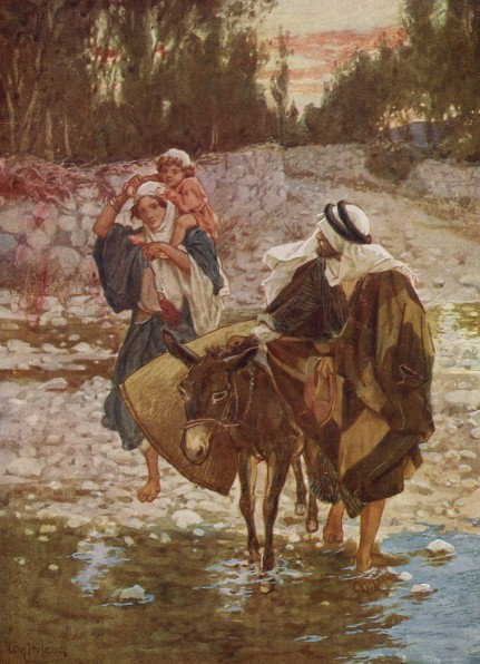 L'Évangile ou vie de Jésus en images. 9j10