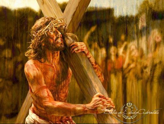 Jesus lleva la cruz Jesus_10