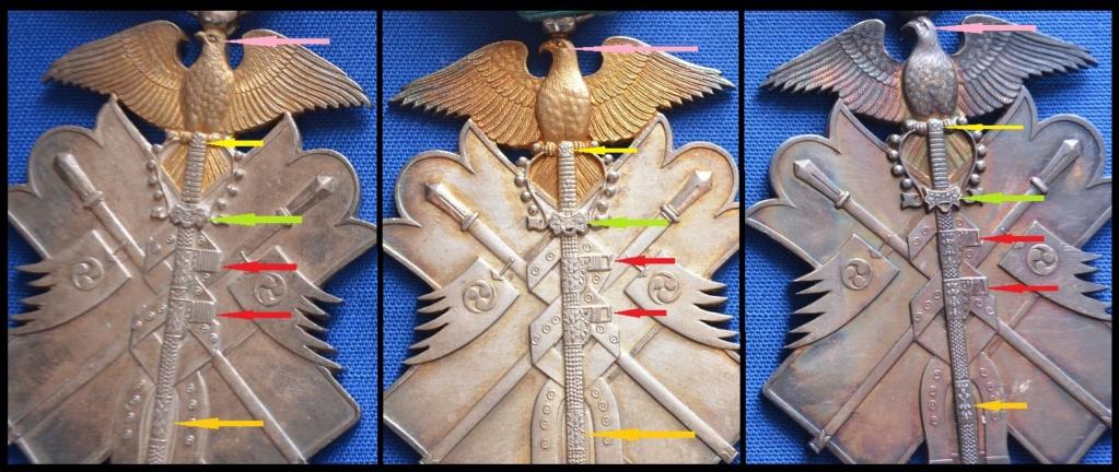 L'ordre du milan d'or et son évolution sous les 3 empereurs : 12-12_14