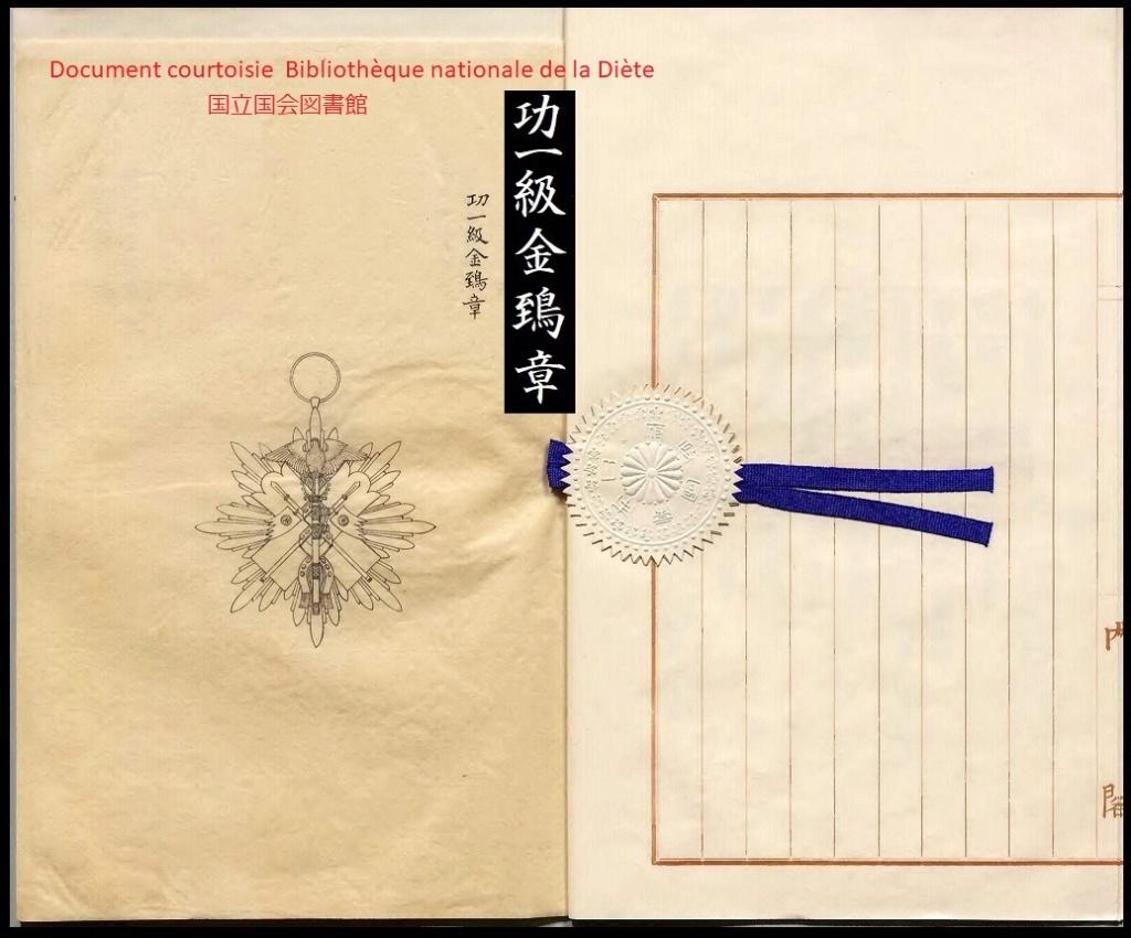 Le milan d'or sous Meiji, Taisho et Showa, les écrins..... G_aasa10