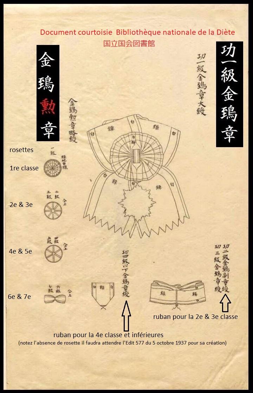 Le milan d'or sous Meiji, Taisho et Showa, les écrins..... K_aasa10
