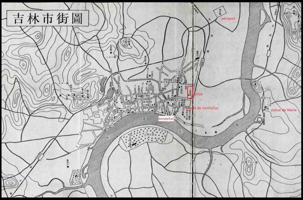 La médaille commémorative de l'érection du 1er temple Shintoïste en Manchourie  Oii_ji11