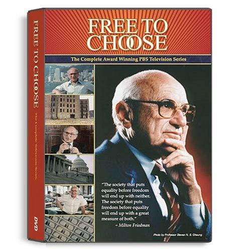 """ FREE TO CHOOSE-1980 HD "" by Milton FRIEDMAN (ST en Fra) © Crypto10"