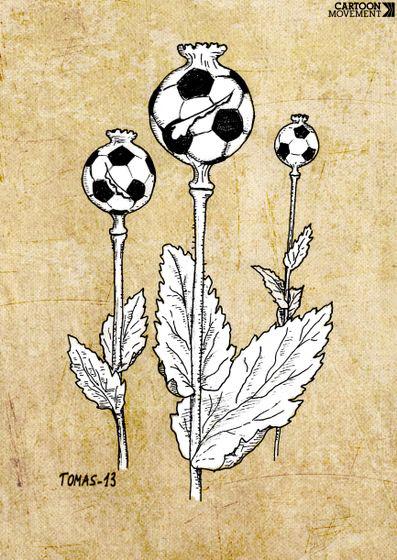 """"""" Le FOOTBALL est L'OUTIL de MANIPULATION # 1 de LA MAFIA COMMUNISTE """" by Fred BULLOT © Maxres13"""