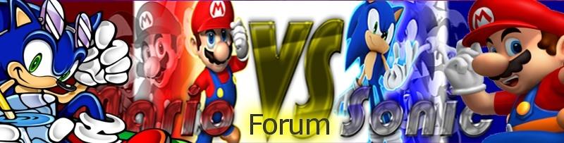 Mario Vs. Sonic Forums