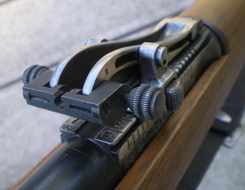 Dispositif de tir de nuit pour Gewehr 1898 Hausse11