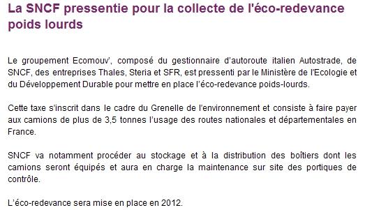 bientôt une nouvelle taxe écomouv' sur les poids lourds en 2012 Ecomou10