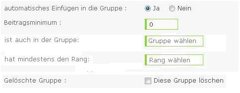 """Erweiterung """"Automatisches Einfügen in Gruppe"""": Gruppe als Vorraussetzung A0155"""