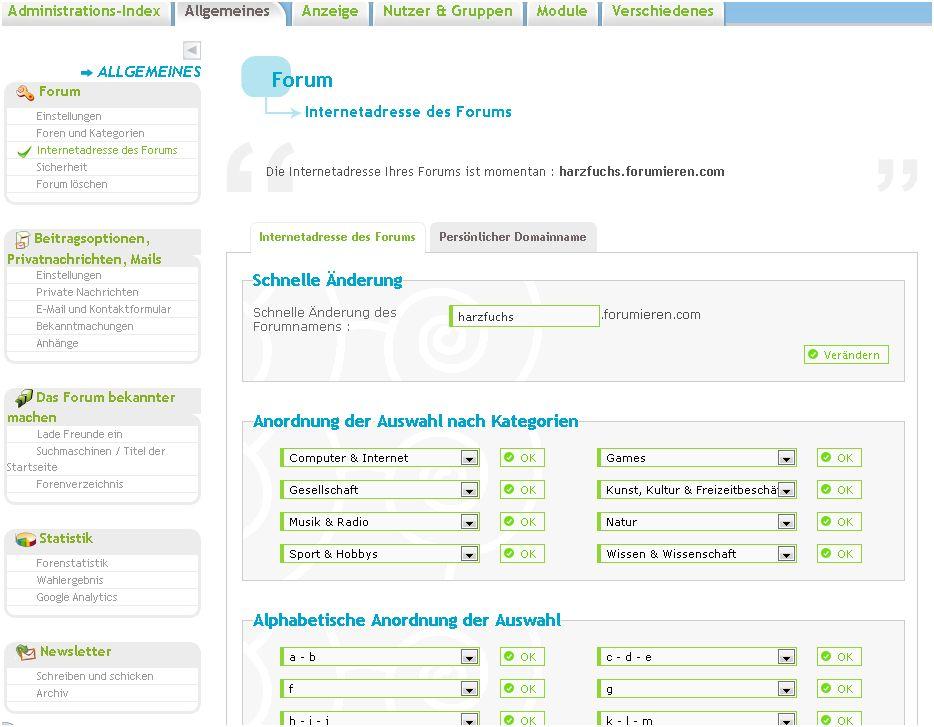 [Tutorial] Die Internet Adresse des Forums ändern! A1178