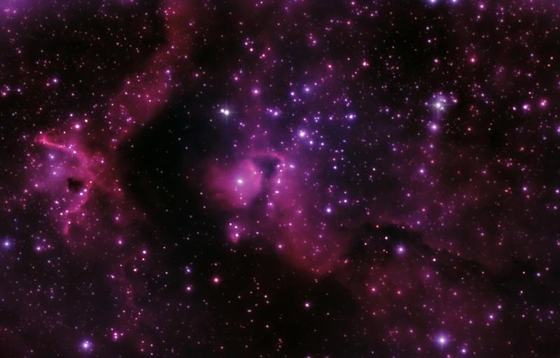 DEBUT ASTROPHOTO IC 1871 Ngc-1810