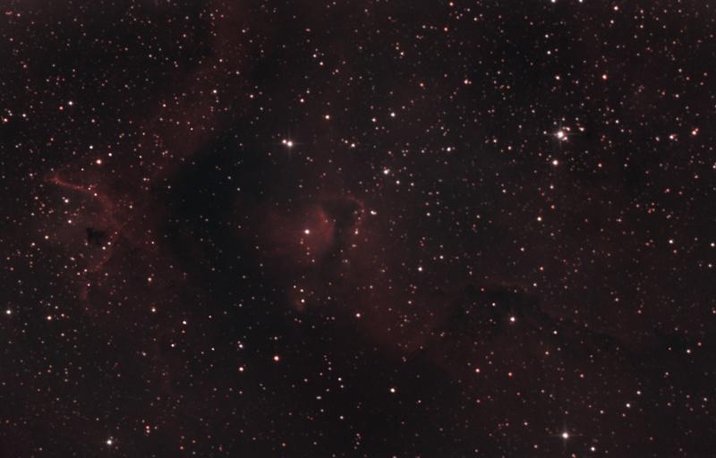 DEBUT ASTROPHOTO IC 1871 Ngc-1811