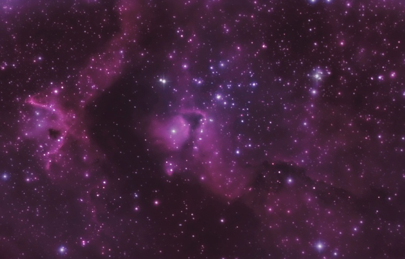DEBUT ASTROPHOTO IC 1871 Ngc-1812
