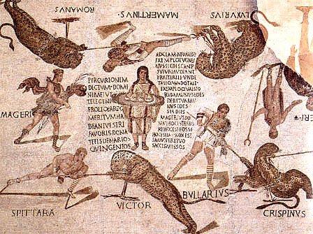 Les noms des gladiateurs : des noms de scène ? Chasse10