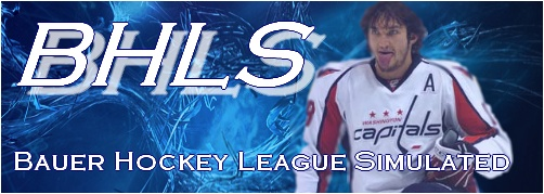 Bauer Hockey League Simulated