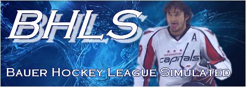 Bauer Hockey League Simulated