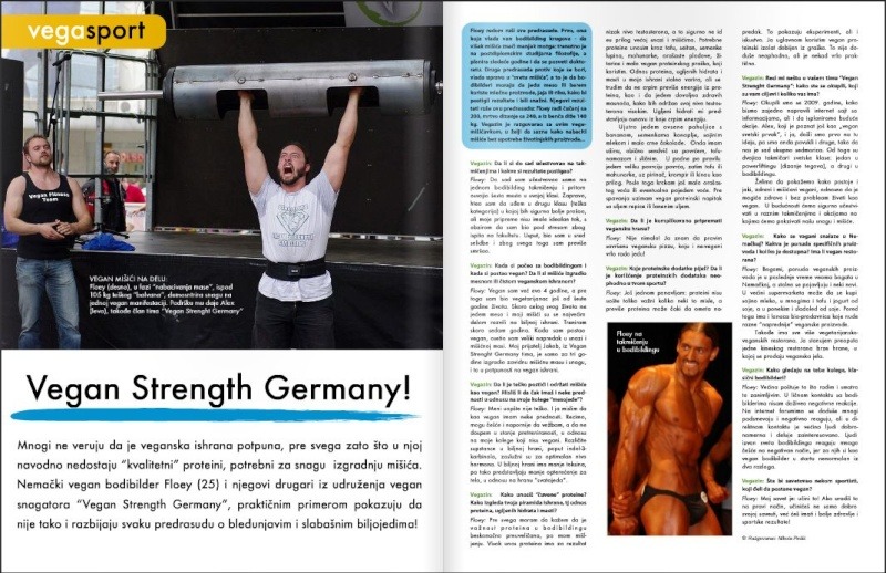 Artikel über VSG und Interview mit Floey in Vege's Online-Mag Online10